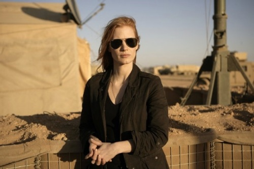 Maya (Jessica Chastain) en su búsqueda de Osama Bin Laden