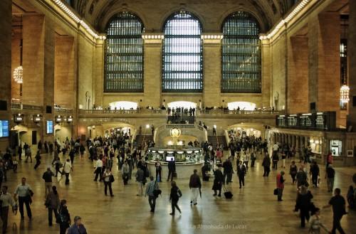 El vestíbulo de la estación (clic en la imagen para verla a mayor tamaño).