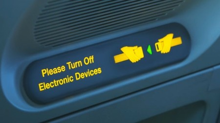 FAA Turn Off Electronic Devices