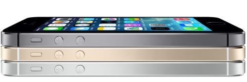 El nuevo iPhone 5S se ofrece en un nuevo color: oro