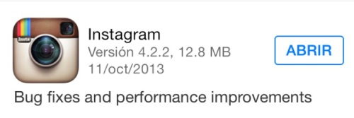 """Esta actualización contiene """"sorpresa"""""""