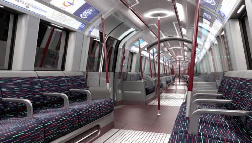 Interior de los vagones